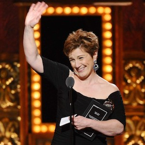 Alumna Lisa Kron at the 2015 Tony Awards