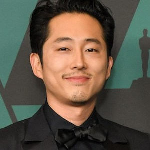 Steven Yeun at the Twilight Zone Premiere